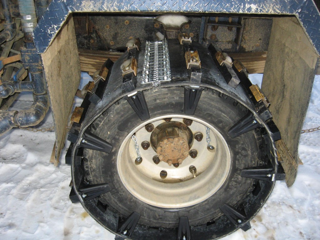 Image of snow 4x4 track conversion