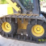 Custom skid steer tracks