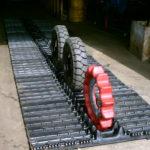 Snowcat track assembly