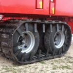 Image of rubber tractor track and combine tracks for sale.
