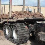 off road tracks for trucks on truck
