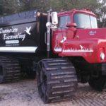 ustom rubber tracks for trucks for mud
