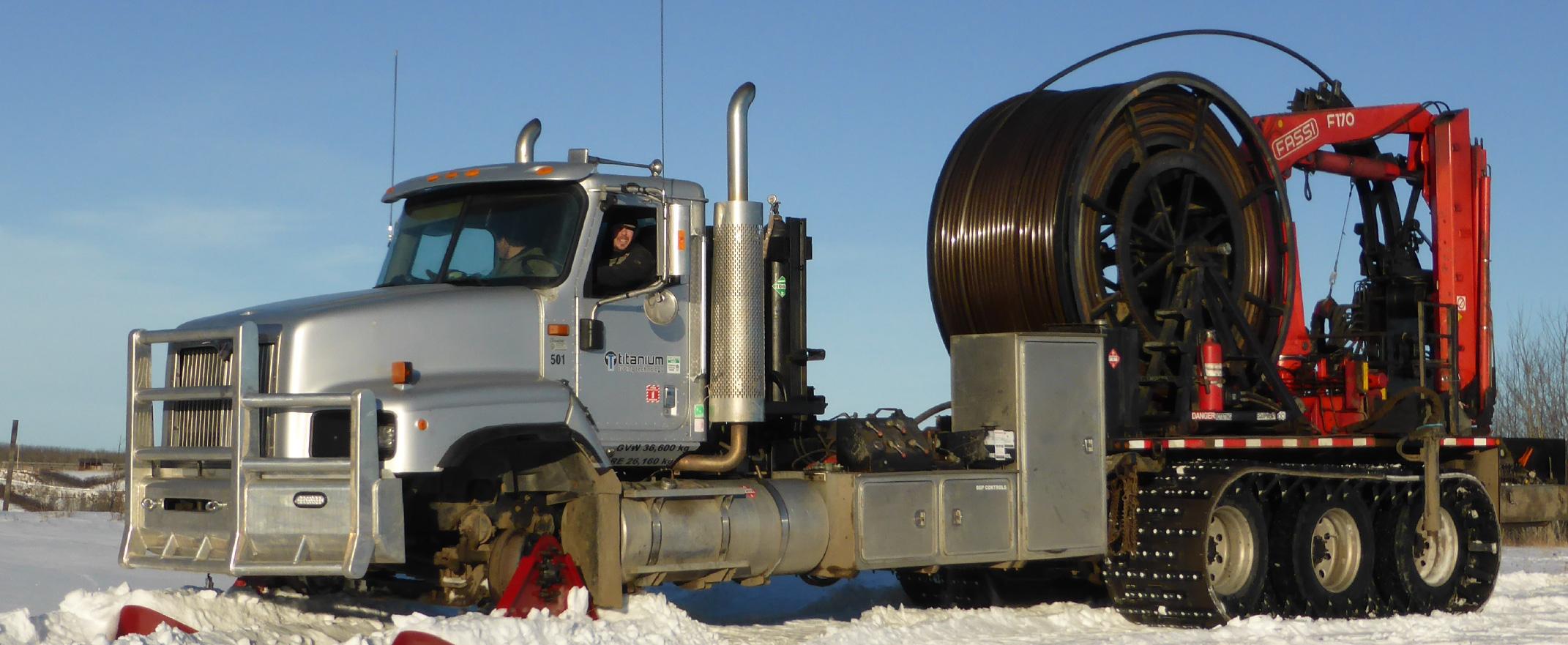 Articulating Truck