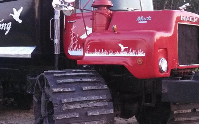 Tandem Axle Truck Tracks