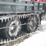 snow tracks for triple axle truck