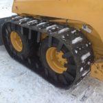 Image of tracks for skid steer loaders